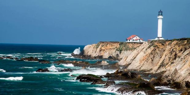Point Arena Lighthouse is a great place to experience California's rugged North Coast. Photo / Airbnb