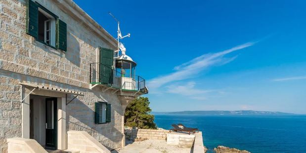 Lighthouse Crna Punta is the ideal listing to get away from it all. Photo / Airbnb