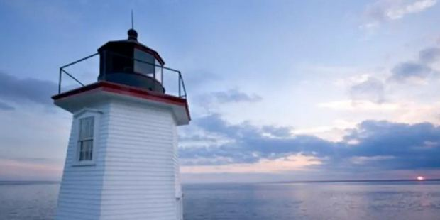 Wings Neck Lighthouse offers stunning 360 degree views of the Atlantic. Photo / Airbnb
