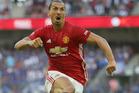 Zlatan Ibrahimovic scored twice in Manchester United's 2-0 win over Southampton. Photo / AP