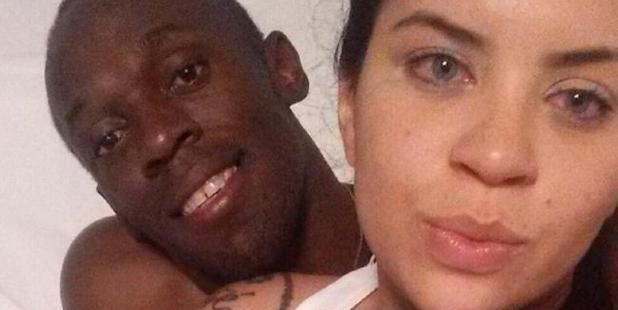 Jady Duarte, from Rio, shared WhatsApp pictures that show her wearing a white top while embracing Usain Bolt - who has a girlfriend of three years. Photo / Twitter