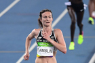 Nikki Hamblin in action during the women's 5000m race at the Olympics. Photo / Photosport