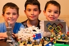Jacob, Sam and Isaac Orsler turned their favourite Olympic moments into lego creations as the Rio Olympics unfolded by creating a lego scene for every medal the New Zealand team won.