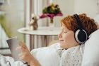 Listening to music can improve patients' quality of life, American researchers have found.