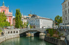Ljubljana has grown into a lively and picturesque city filled with restaurants, cafes and nightclubs packed with foreigners. Photo / 123RF