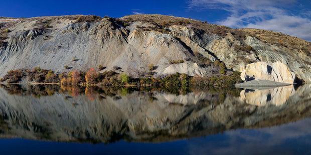 St Bathans' Blue Lake. Photo / 123RF