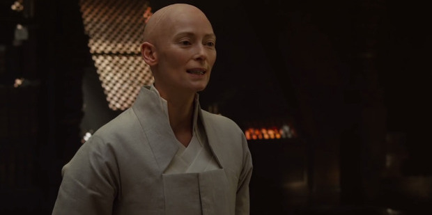 Marvel's forthcoming Doctor Strange is where Tilda Swinton plays a character who traditionally has been of Tibetan descent.