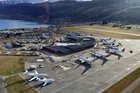 Queenstown Airport has started running night flights.