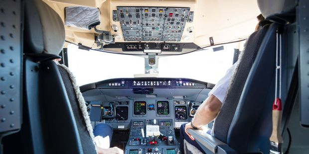 The pilots were grounded for seven days for taking selfies in the cockpit. Photo / 123RF