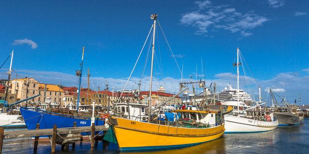 Fishing boats docked at Franklin Wharf. Photo / 123RF