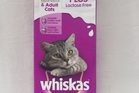 Whiskas Kitten Adult Cats Milk Plus Lactose Free $4 99 for 1 Litre. Photo / Supplied