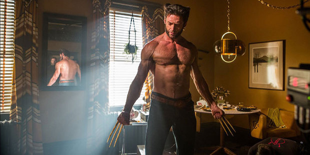 Hugh Jackman stars as Wolverine in the X-Men movies.