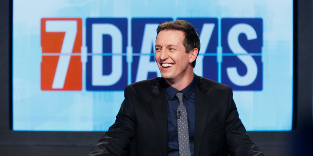 Rove McManus takes over hosting duties from Jeremy Corbett in tonight's episode of 7 Days.