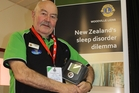Woodville Lions Club member Warren Jones is heading his club's national initiative, establishing the Sleep Health Foundation of New Zealand to help those suffering from sleep disorders and especially chronic sleep apnoea. Photo / Christine McKay