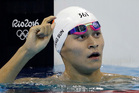 China's Sun Yang was a controversial figure at the Games. Photo / AP