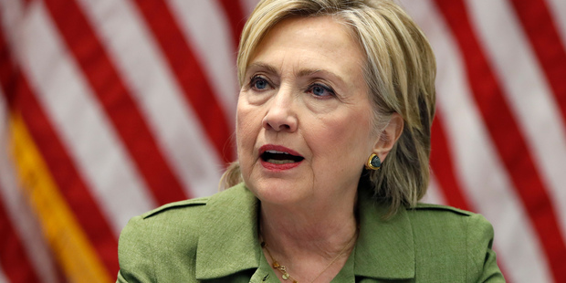 Democratic presidential candidate Hillary Clinton is the heavy favourite. Photo / AP
