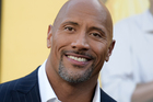 Dwayne Johnson is the world's highest paid actor, according to Forbes. Photo/AP