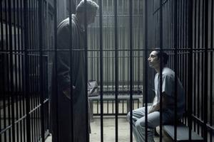 John Turturro and Riz Ahmed in The Night Of.