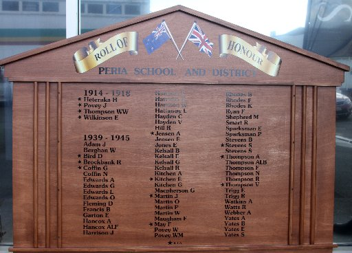 The new roll of honour, destined to be mounted at the Swamp Palace.