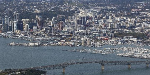 More visitors from overseas are coming to Auckland to spend their money.