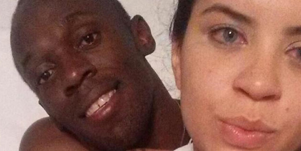 The girl who apparently spent the night with Usain Bolt after he celebrated his 30th birthday is the widow of one of Rio de Janeiro's most dangerous drug lords. Photo / Twitter.