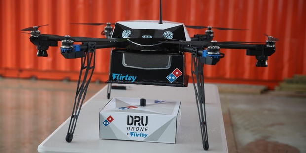 Domino's Could Start Delivering Pizza by Drone This Year