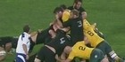 Watch: Watch: Did All Blacks prop try to gouge Aussie?