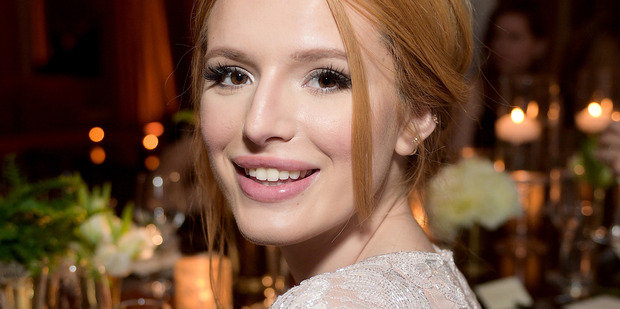 Bella Thorne told a fan she was bisexual after being asked about it on Twitter. Photo/Getty