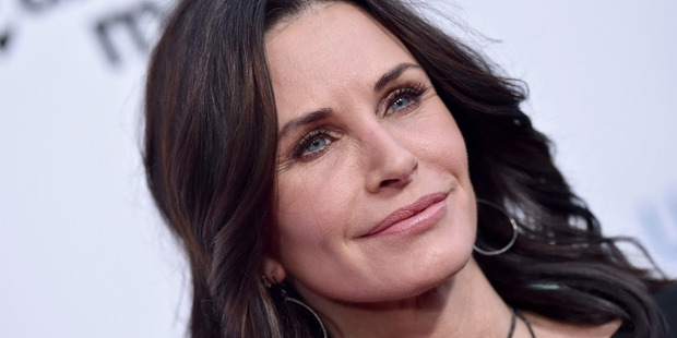 Actress Courteney Cox says she regrets some of her cosmetic procedures. Photo / Getty Images