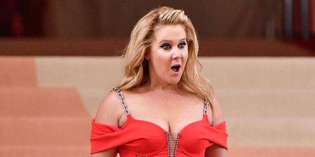 Amy Schumer attending the Met Gala in May. She did not have a great night. Photo / Getty Images