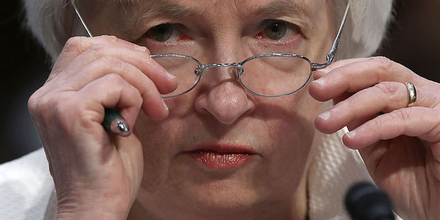 Federal Reserve chair Janet Yellen defended the effectiveness of the US monetary policy regime. Photo / Getty