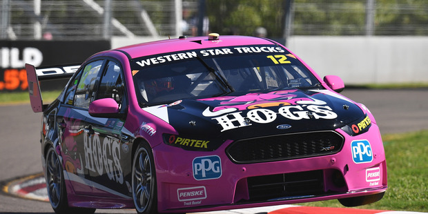Fabian Coulthard drives during the Townsville 400. Photo / Getty Images