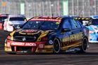 David Reynolds drives the #9 Erebus Motorsport Penrith Holden in Townsville. Photo / Getty Images