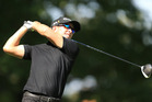 Tim Wilkinson watches his tee shot during the RBC Canadian Open. Photo / Getty Images