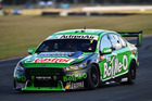 Mark Winterbottom during practice for the Ipswich SuperSprint. Photo / Getty Images