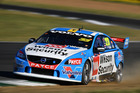 Scott McLaughlin drives during race 2 for the V8 Supercars Ipswich Supersprint. Photo / Getty Images