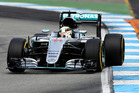 Lewis Hamilton during the Formula One Grand Prix of Germany. Photo / Getty Images