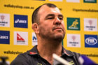 Michael Cheika. Photo / Getty
