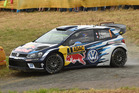 Sebastien Ogier during the Shakedown of the WRC Germany. Photo / Getty Images