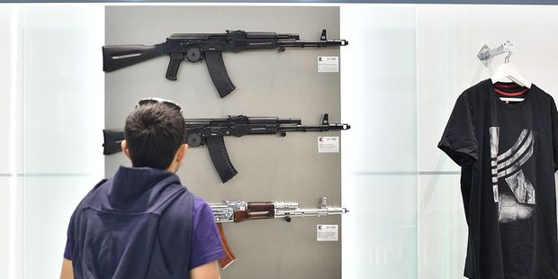 An airport official said the guns on sale were clearly imitations and would pose no security problems. Photo / Getty Images