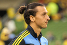 Swedish striker Zlatan Ibrahimovic leads the way for top knots in the footballing universe. Photo / Photsport