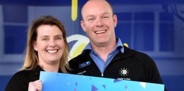Loading South Dunedin Night 'n Day store owners Katie and Murray Devereux. Photo / Otago Daily Times