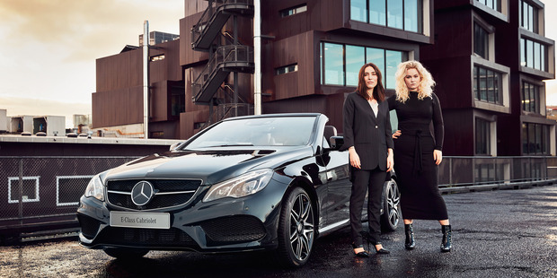 Madeleine Harman and Jessica Grubisa of Harman Grubisa are the Mercedes Benz designers kicking off New Zealand Fashion Week today.