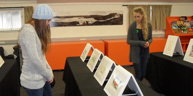 Rotorua Museum will host Muka Youth Prints - an exhibition exclusively for children aged 5 to 18 this Sunday. Photo/Supplied