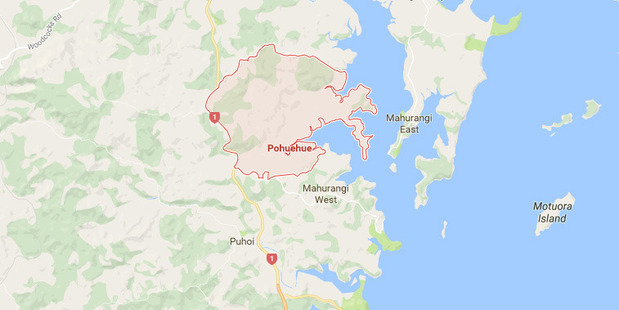 The person was involved in a two car accident which happened at Pohuehue, north of Auckland.