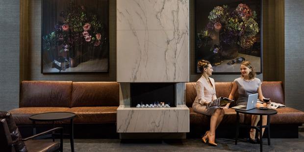 The new Sofitel Hotel, Wellington. Photo / Supplied