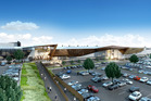 Five new cinemas will be built at Tauranga Crossing, shown here in an artist's impression. Photo/ Supplied.