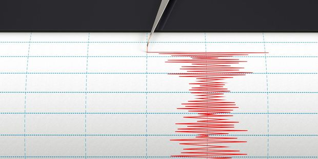 The quake was of moderate intensity. Photo / 123RF