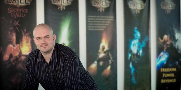 Grinding Gear Games founder Chris Wilson. Photo / Dean Purcell