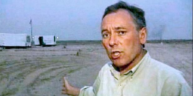 Terry Lloyd. Photo / ITV